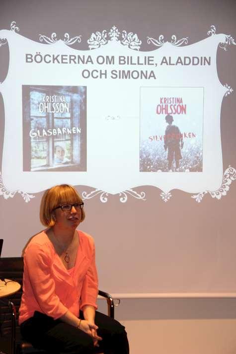 Kristina Ohlsson, författarbesök