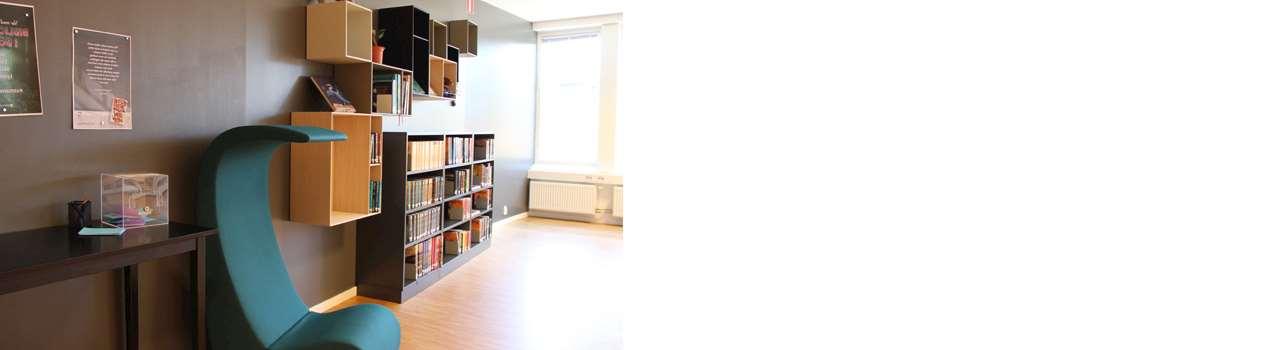 Bild på ny ungdomsavdelning