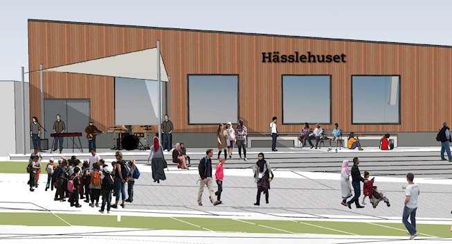 Nya Hässlehuset invigning